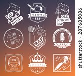 set of vector logos  badges and ... | Shutterstock .eps vector #287685086