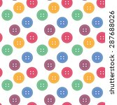 button seamless pattern... | Shutterstock .eps vector #287688026