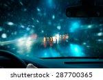 Winter Night Driving
