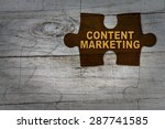 Wood Puzzle  Content Marketing