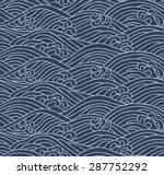 japanese traditional pattern.... | Shutterstock .eps vector #287752292