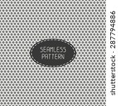 geometric line seamless pattern ... | Shutterstock .eps vector #287794886