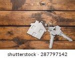 house  key  house key. | Shutterstock . vector #287797142