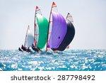 sailing regatta | Shutterstock . vector #287798492