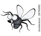 funny fly   Shutterstock .eps vector #28783081