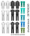 Set Of Medical Clothes. Design...