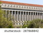 washington dc  capital city of...   Shutterstock . vector #287868842