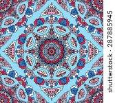 seamless pattern ethnic style.... | Shutterstock .eps vector #287885945