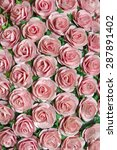 fake roses lot of artificial... | Shutterstock . vector #287891402