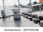 Big Iron Chain Of Anchor On...