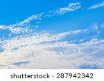 cloud sky sun | Shutterstock . vector #287942342