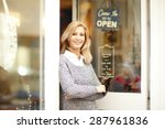 portrait of attractive clothing ...   Shutterstock . vector #287961836