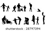 illustration of parents 's... | Shutterstock .eps vector #28797394