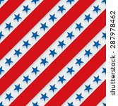 4th july. stars and stripes... | Shutterstock .eps vector #287978462