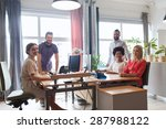 business  startup and people... | Shutterstock . vector #287988122