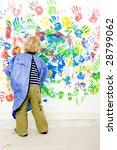 a young boy enjoying himself at ... | Shutterstock . vector #28799062