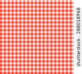 checkered tablecloths patterns... | Shutterstock .eps vector #288018968