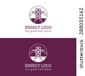 energy tower logo design | Shutterstock .eps vector #288035162