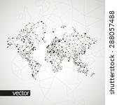 technology image of globe. the... | Shutterstock .eps vector #288057488