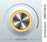 button volume | Shutterstock .eps vector #288078632