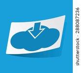 cloud icon. cloud icon art....