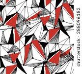 seamless geometric vector... | Shutterstock .eps vector #288096182