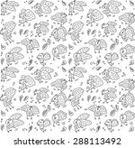 fly numbers seamless pattern... | Shutterstock .eps vector #288113492