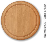 Realistic Wooden Cutting Board...