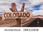 Colorado Wooden Sign With...