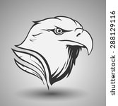 eagle head | Shutterstock .eps vector #288129116