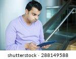 closeup portrait  very upset ... | Shutterstock . vector #288149588