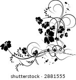 floral background. illustration | Shutterstock .eps vector #2881555