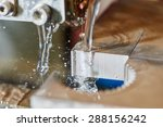 metalwork. wire or spark... | Shutterstock . vector #288156242