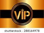 vip card design  vector...   Shutterstock .eps vector #288164978