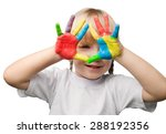 child  education  human hand. | Shutterstock . vector #288192356