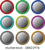 button gradient | Shutterstock .eps vector #28821976