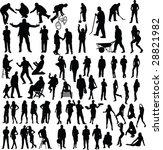 people | Shutterstock .eps vector #28821982