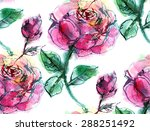 print  seamless pattern with... | Shutterstock .eps vector #288251492