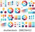 20 vector color infographics.... | Shutterstock .eps vector #288256412