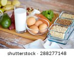 balanced diet  cooking ... | Shutterstock . vector #288277148