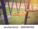 Chain Swing In Playground....