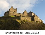 view of edinburgh's castle from ... | Shutterstock . vector #28828115