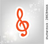 clef orange for icons | Shutterstock .eps vector #288284666