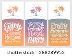 vector calligraphic... | Shutterstock .eps vector #288289952