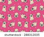 vector illustration. seamless... | Shutterstock .eps vector #288312035