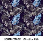 seamless pattern with colorful... | Shutterstock . vector #288317156