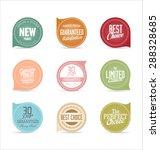modern badges collection | Shutterstock .eps vector #288328685
