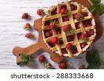Delicious Strawberry Pie In Th...