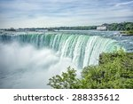 An Image Of The Niagara Falls...
