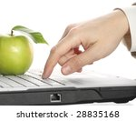 Apple  Keyboard  Hand